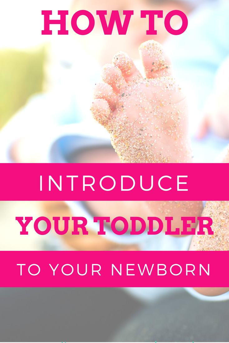 Tips for introducing your toddler to a newborn baby sibling