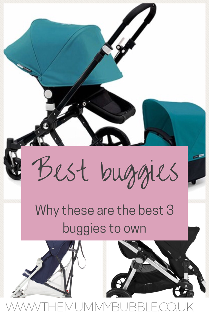 The best 3 buggies to suit families with a newborn baby, a toddler and both