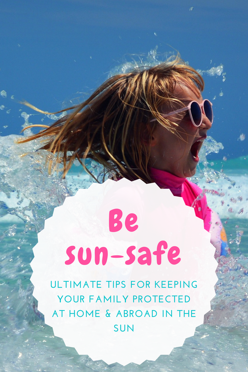 Tips for keeping children safe in the sun