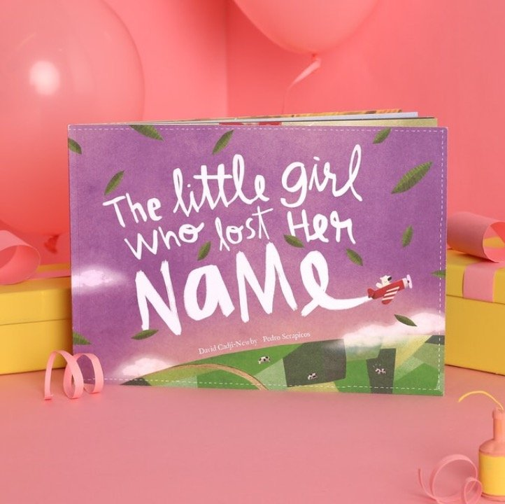 Lost My Name book first birthday gift idea