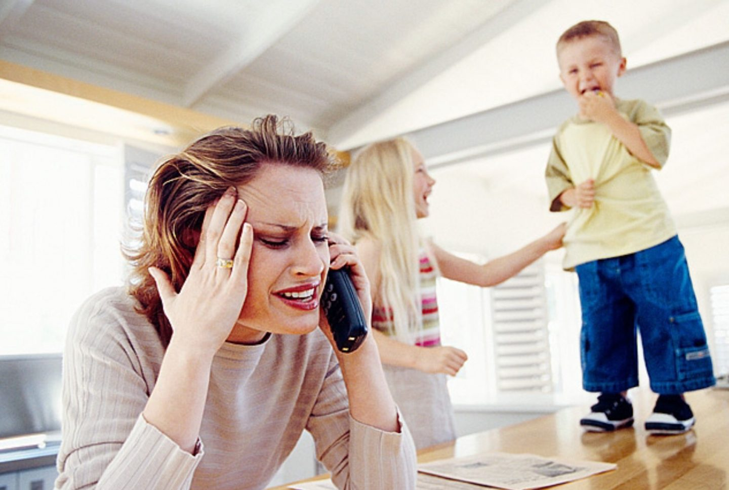 The joy of parenting: When mums have to fake it to make it