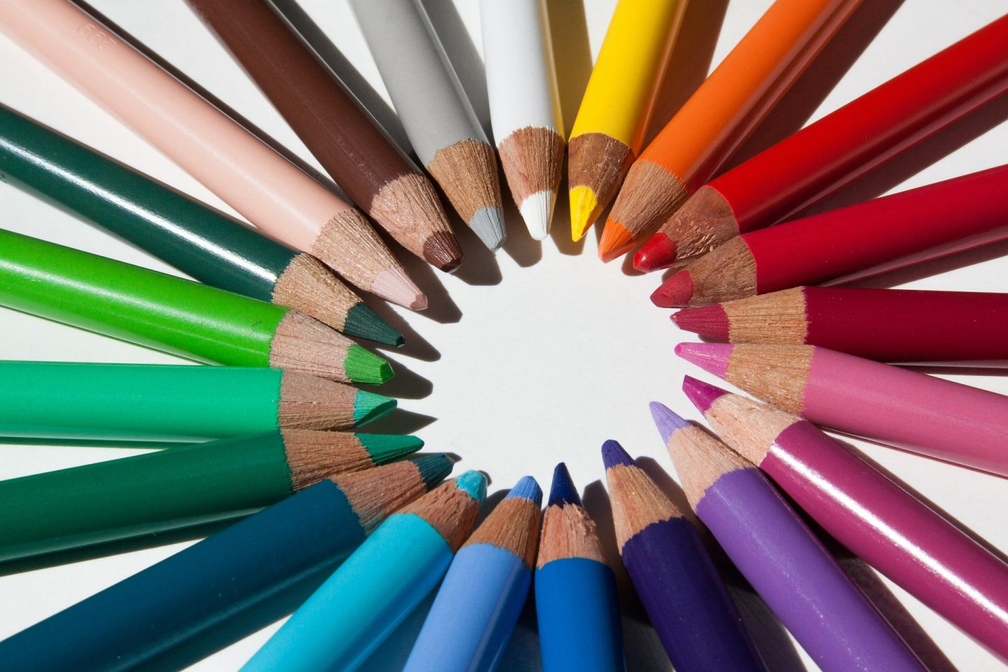 Ways of venues to be more family friendly- colouring pencils and crayons