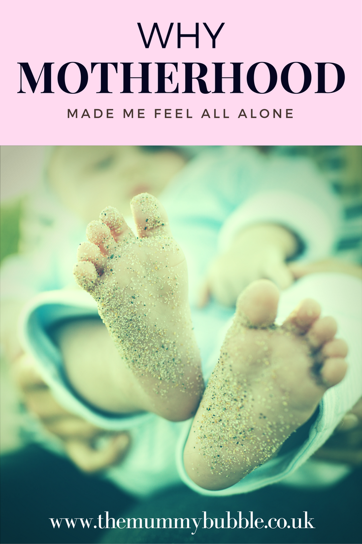 Why motherhood made me feel all alone