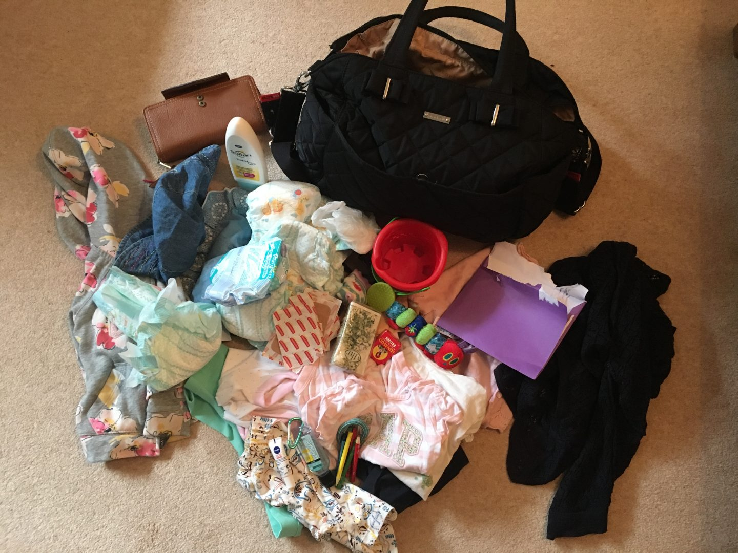 The amazing bottomless changing bag