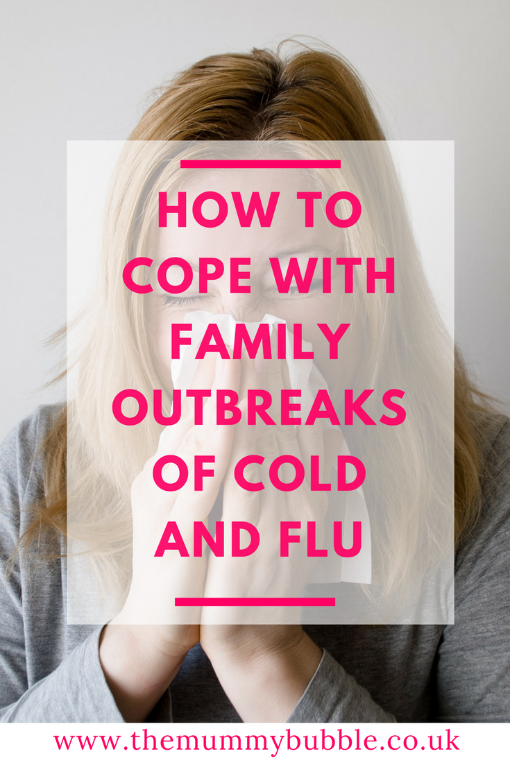 How to cope with family outbreaks of cold and flu