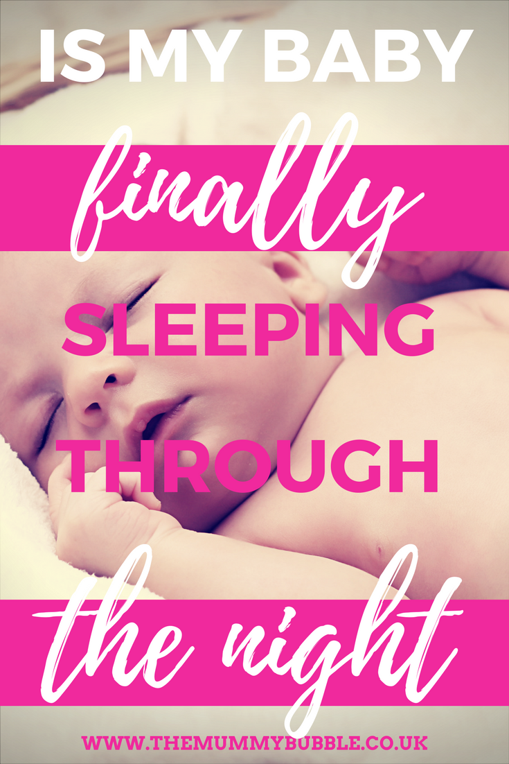 Is my baby finally sleeping through the night?