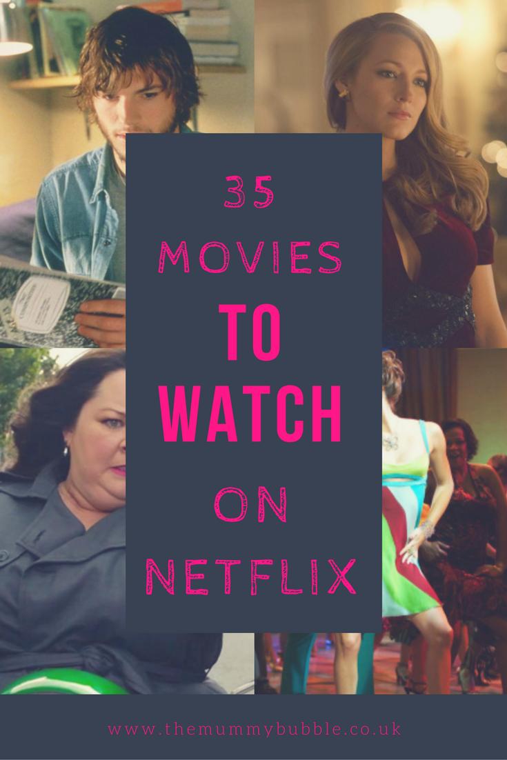 35 movies to watch on Netflix