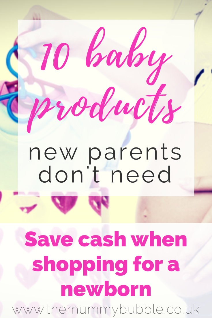 10 baby products new parents do not need to buy