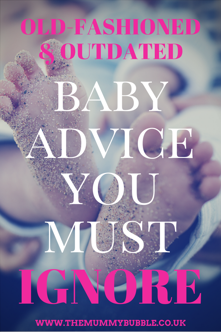 Outdated baby advice that has been changed and you should ignore