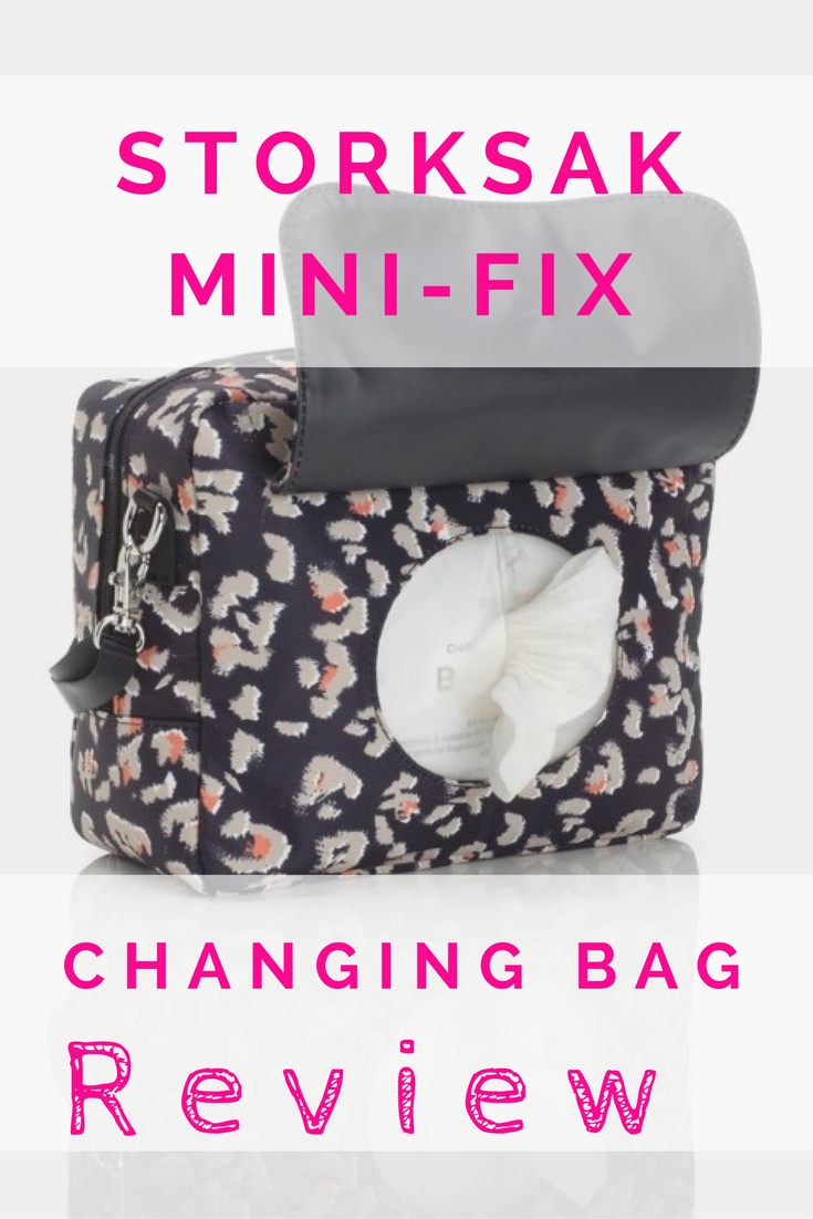 Storksak Mini-Fix changing bag review