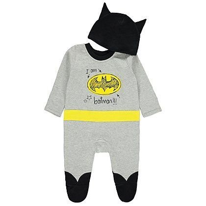 Batman baby onesie Halloween costume