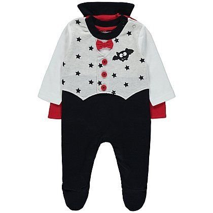 Baby vampire onesie Halloween costume