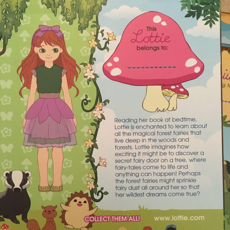 Lottie dolls packaging