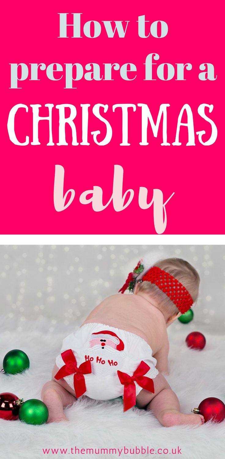 Top tips for preparing for a Christmas baby