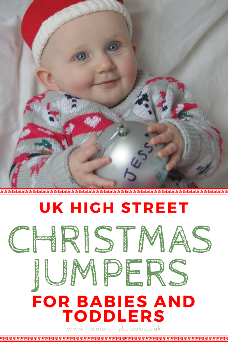 Christmas jumpers for babies and toddlers