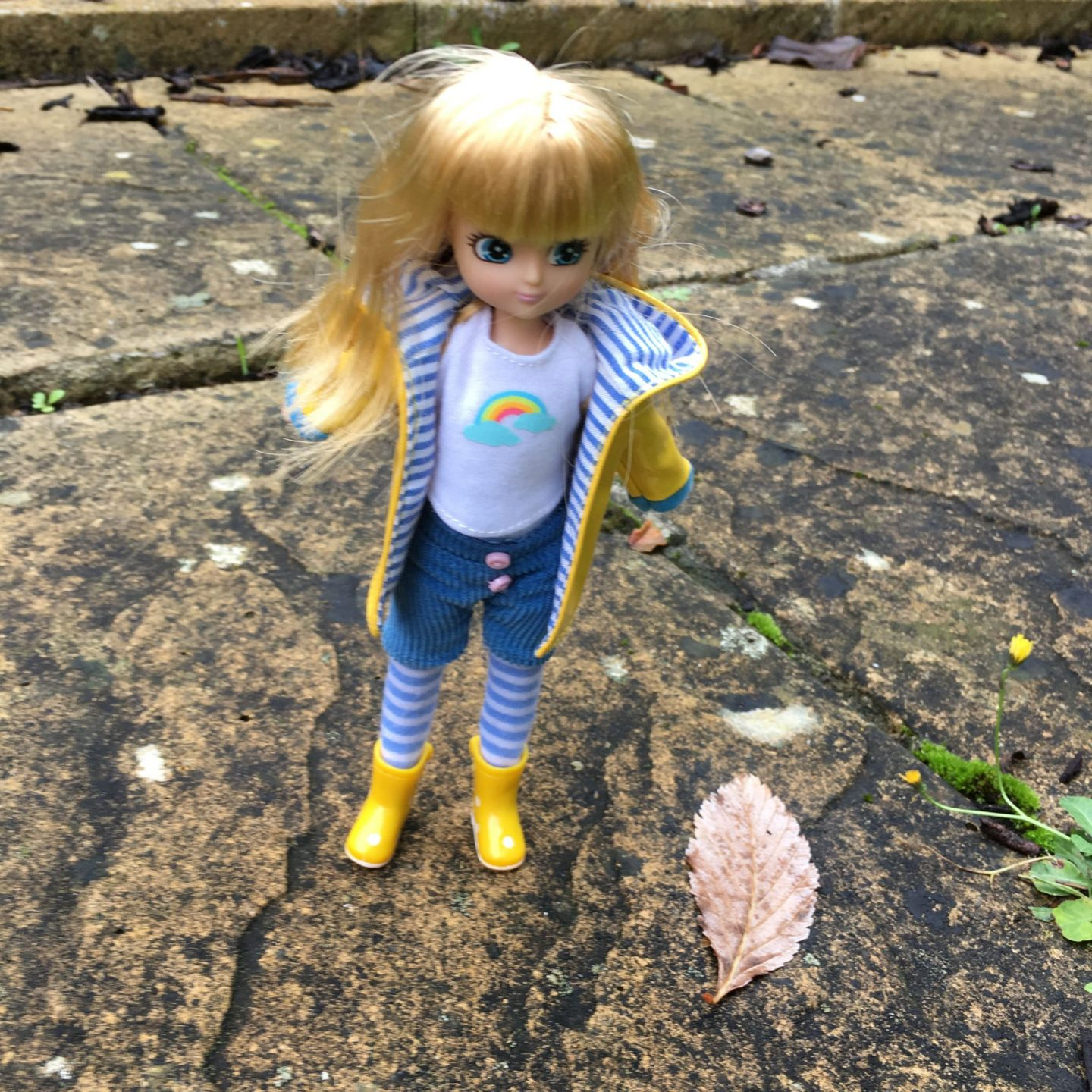 Muddy Puddles Lottie doll
