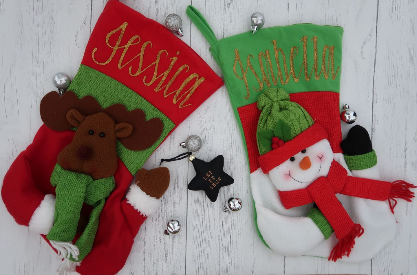 Getting festive with stockings from The Christmas Cart