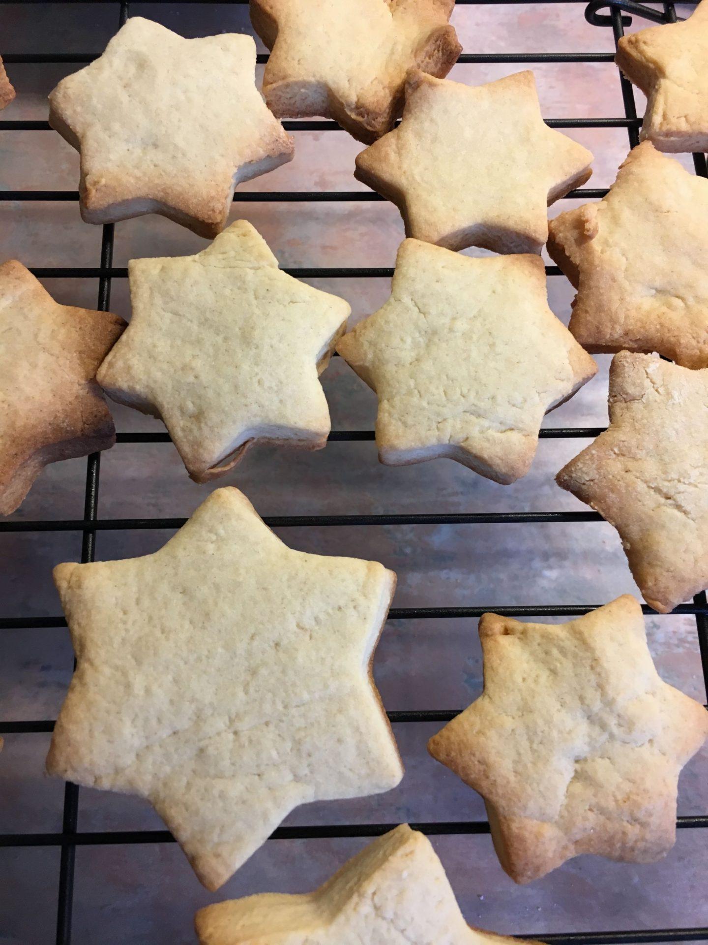 Star biscuits recipe