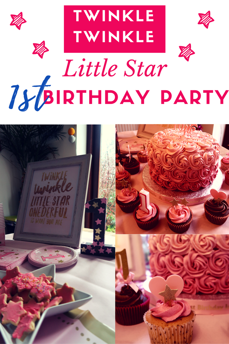 Ideas and inspiration for a Twinkle Twinkle Little Star first birthday partt
