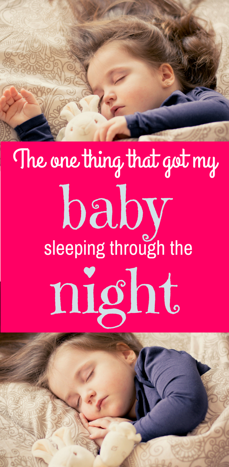 How I finally got my baby sleeping through the night - and it only took three days
