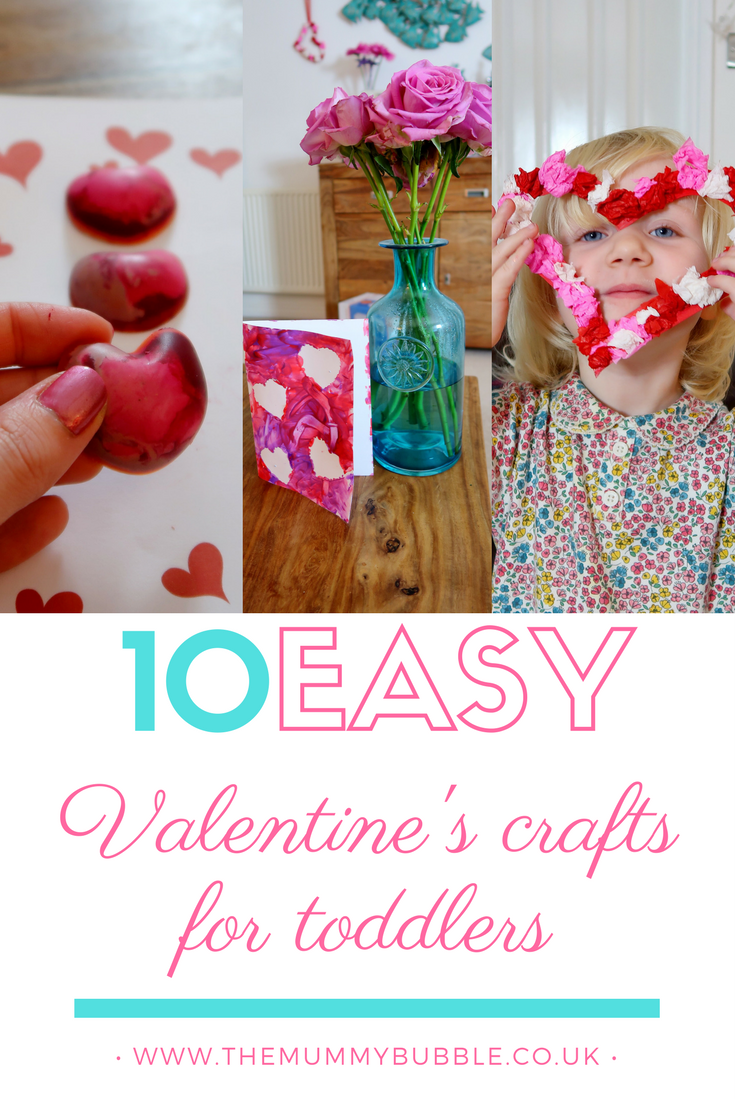 10 easy Valentine's crafts for toddlers