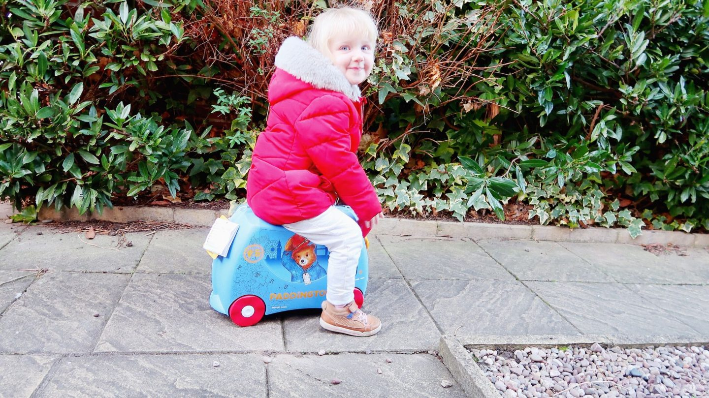 Paddington Bear Trunki: Review and giveaway