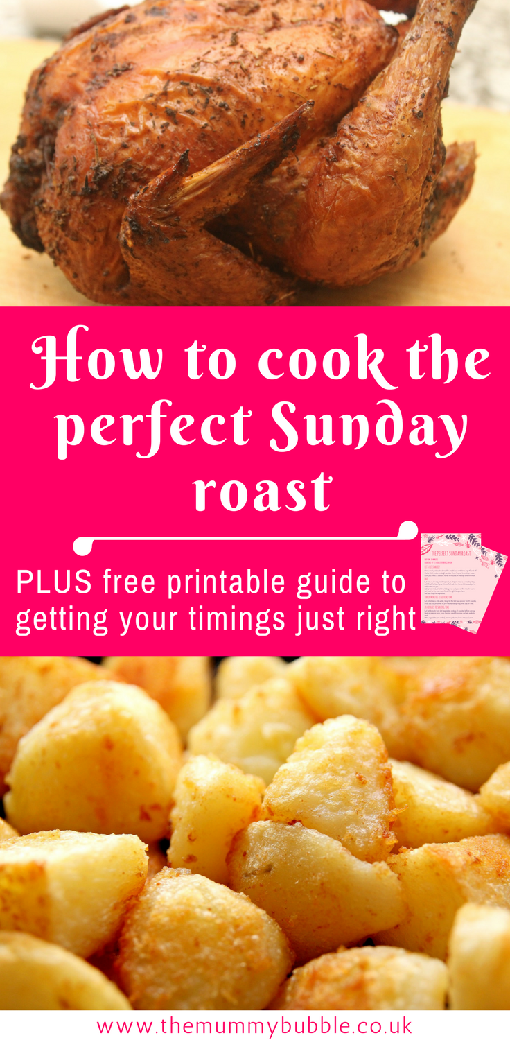 How to cook the perfect Sunday roast - a guide to timing your roast dinner just right