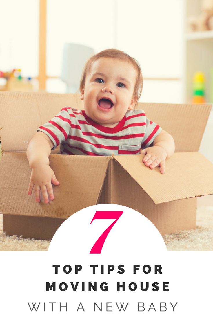 7 tips for moving house with a newborn baby