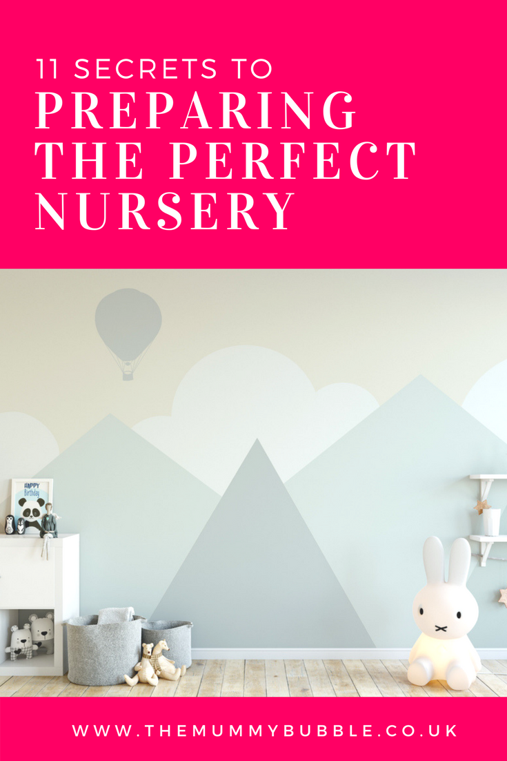 11 top tips to preparing the perfect nursery for your baby