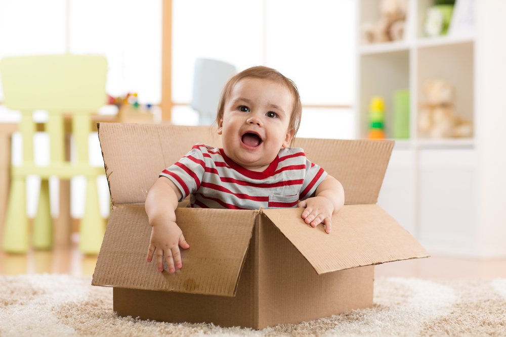 Top tips for moving house with a newborn baby