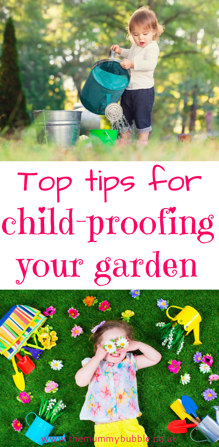 Top tips for child-proofing your garden
