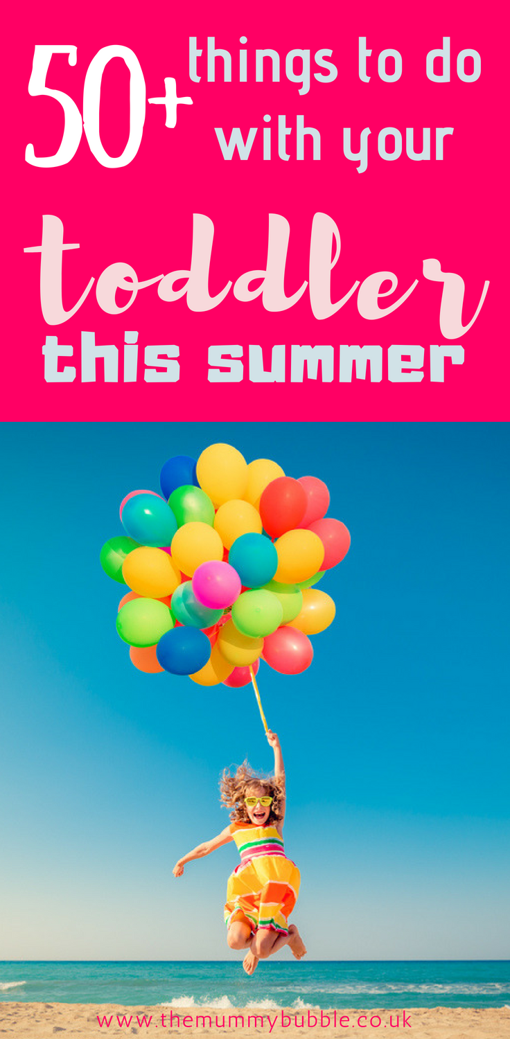 50+ ideas for what to do with your children this summer