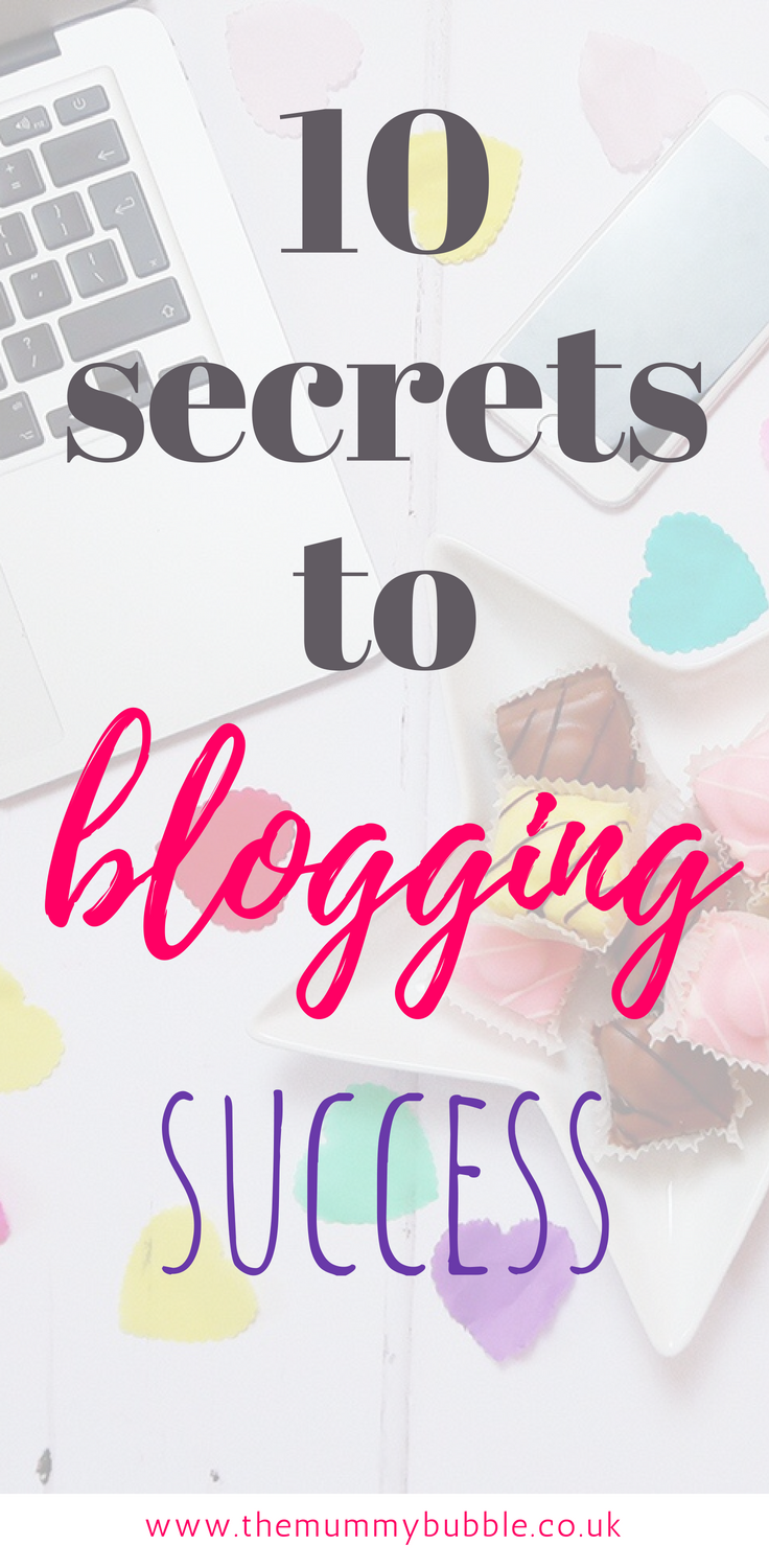 10 secrets to blogging success