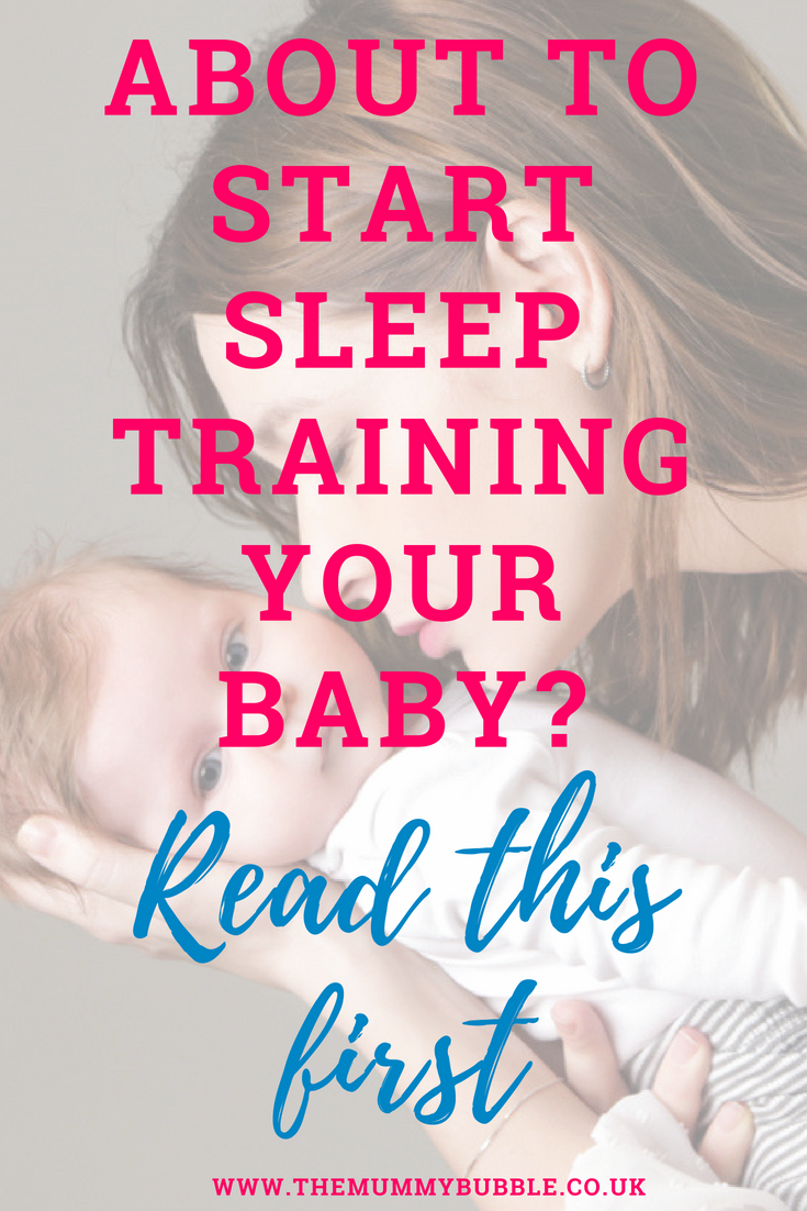 Top tips for baby sleep training