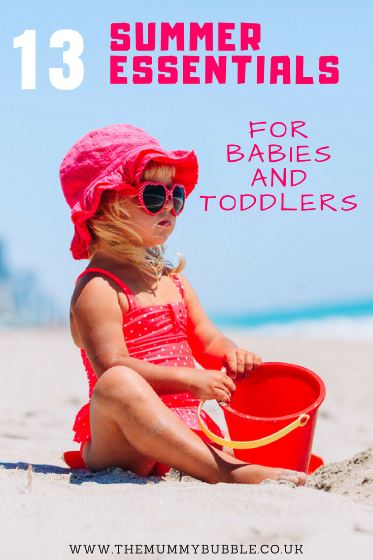 13 summer essentials for babies and toddlers