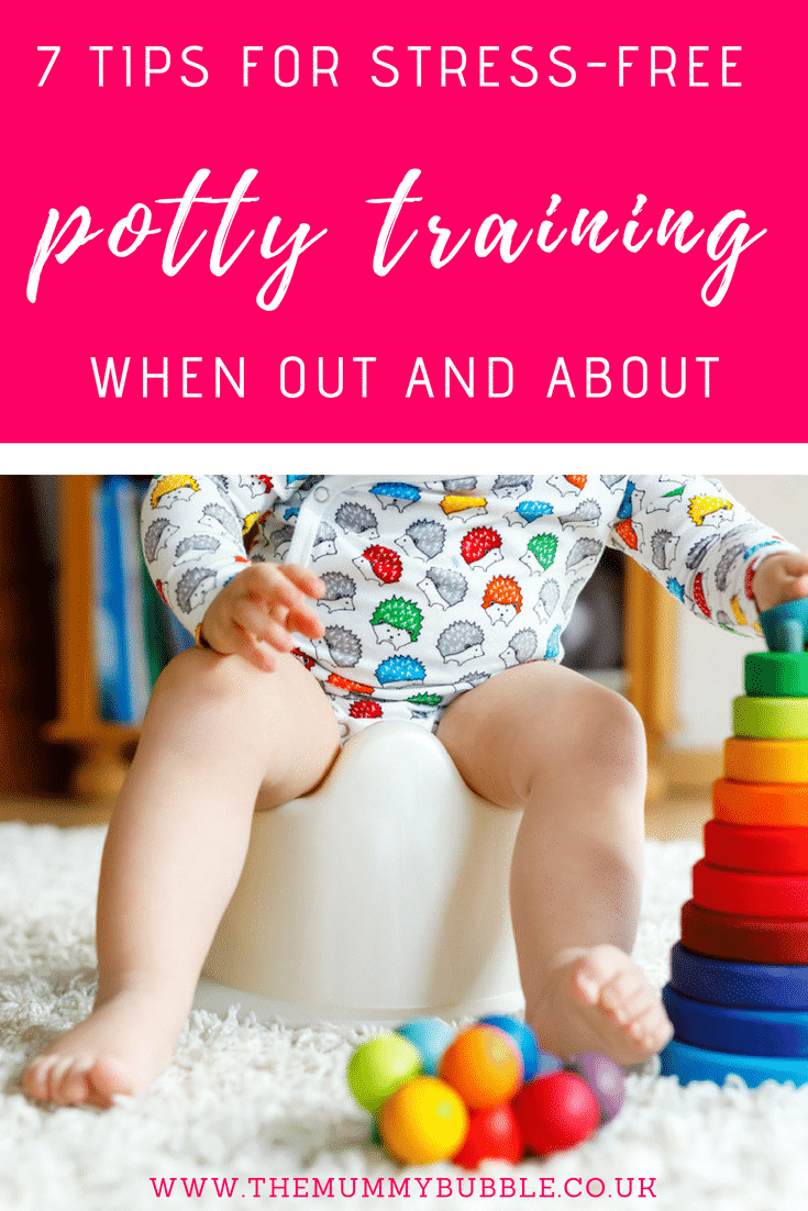7 tips for stress-free potty training when out and about with a toddler