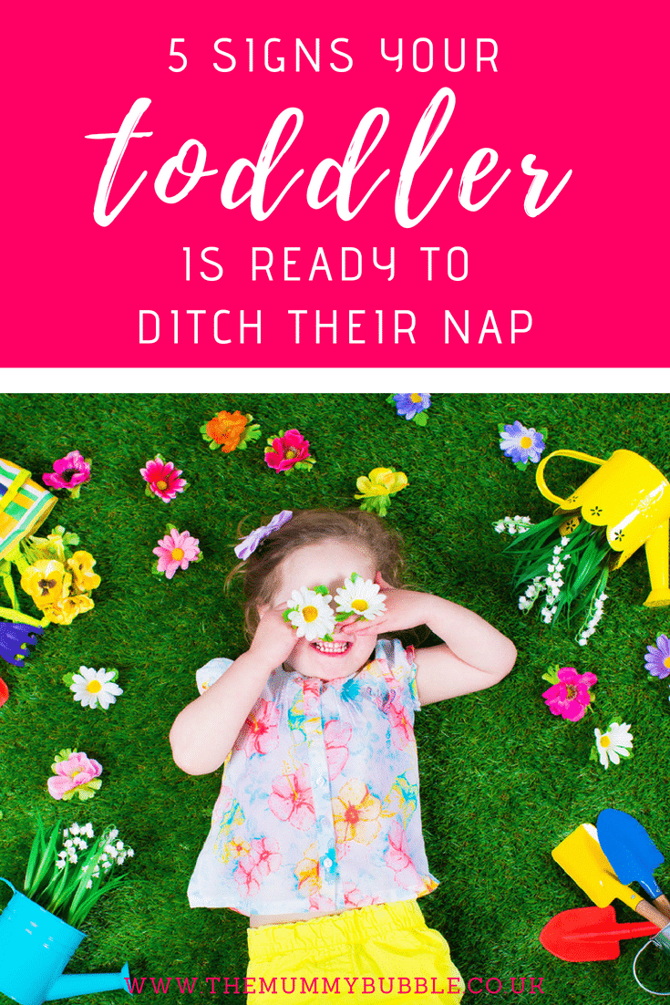 5 signs your toddler is ready to ditch their nap