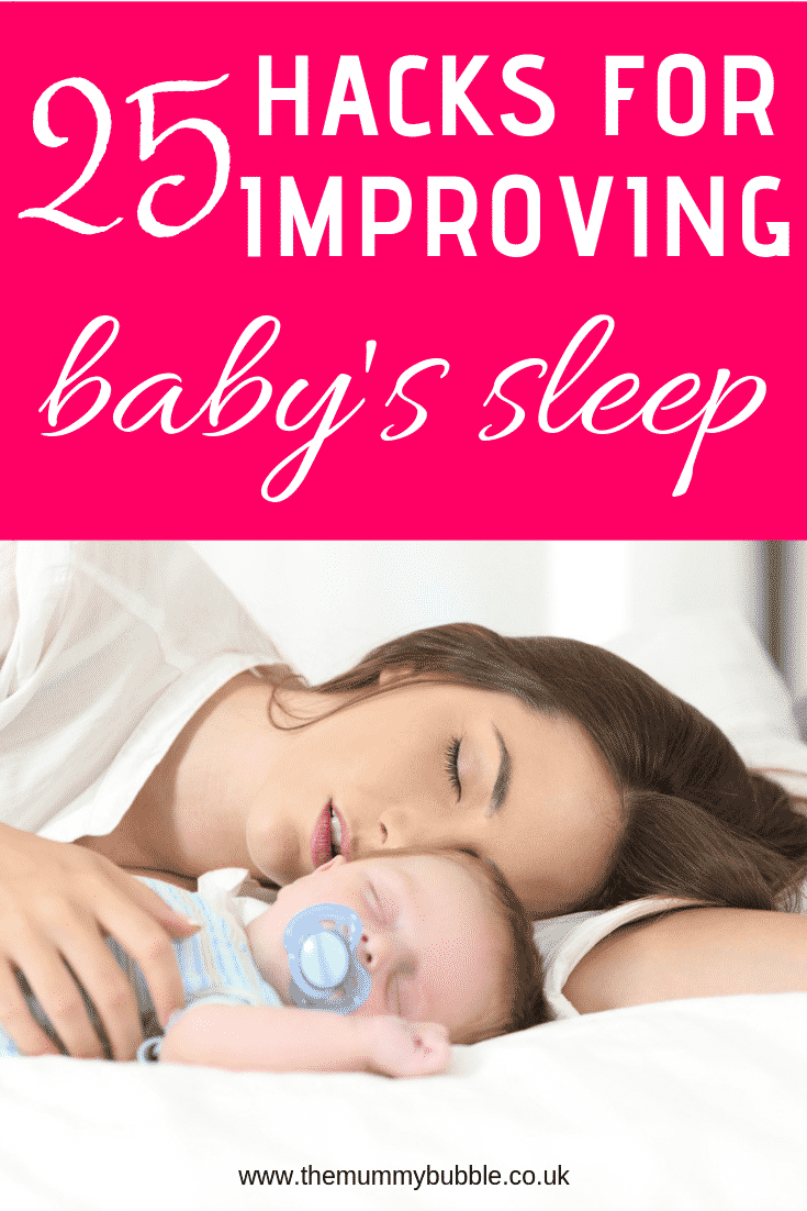 25 secrets for improving your baby's sleep