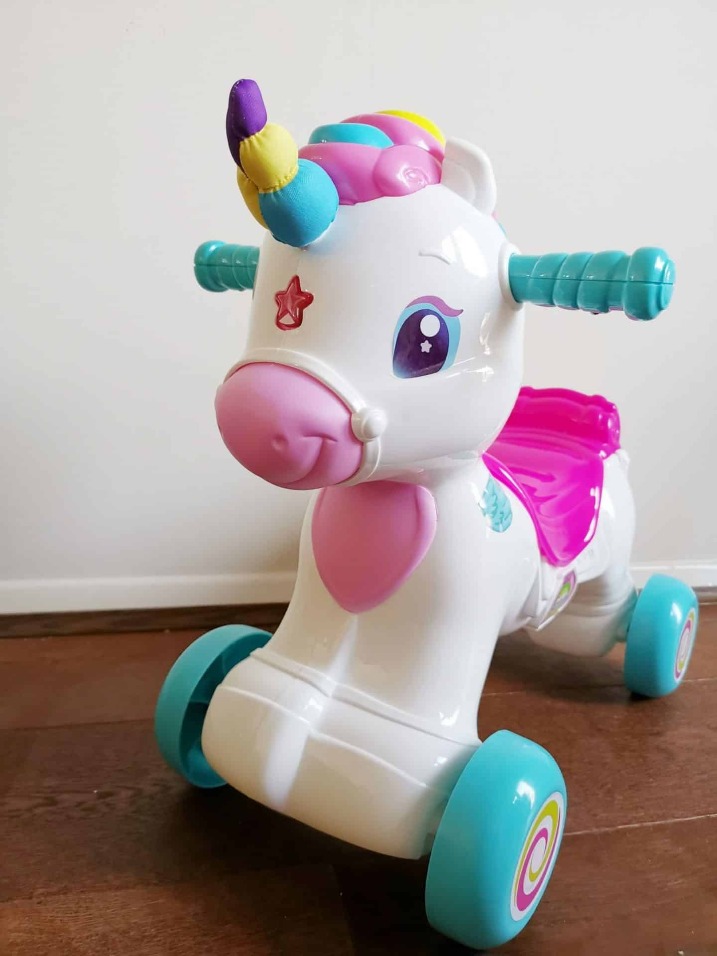 Baby Clementoni ride on unicorn review
