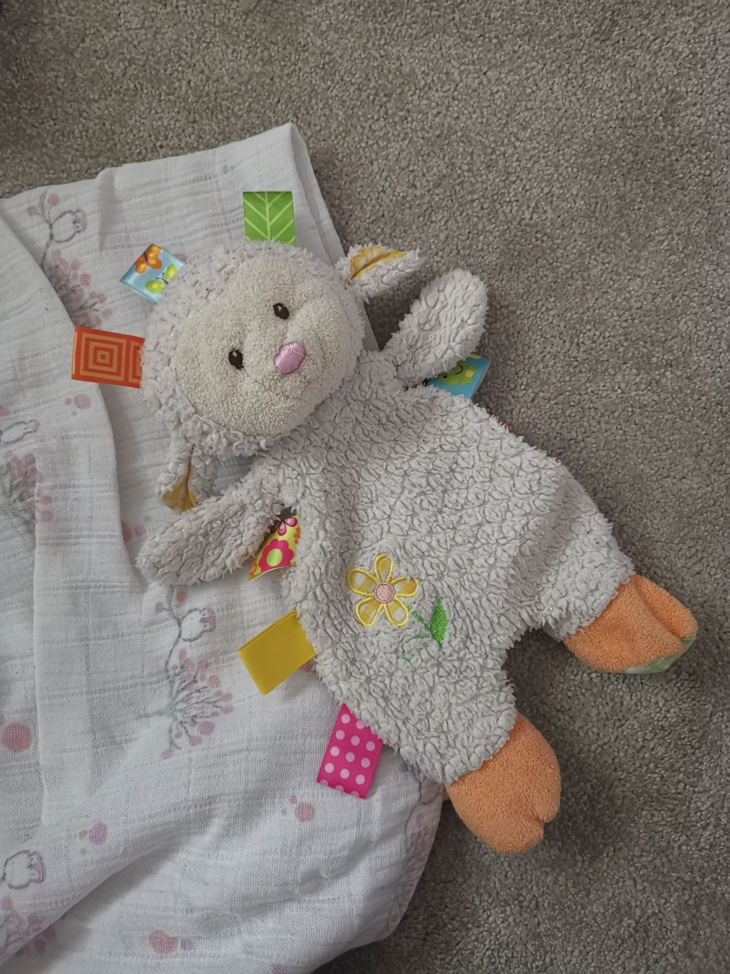 Cute baby comforters