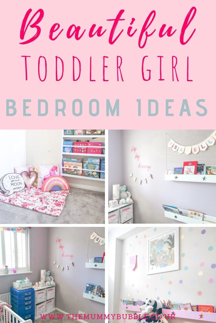 beautiful toddler girl bedroom inspiration