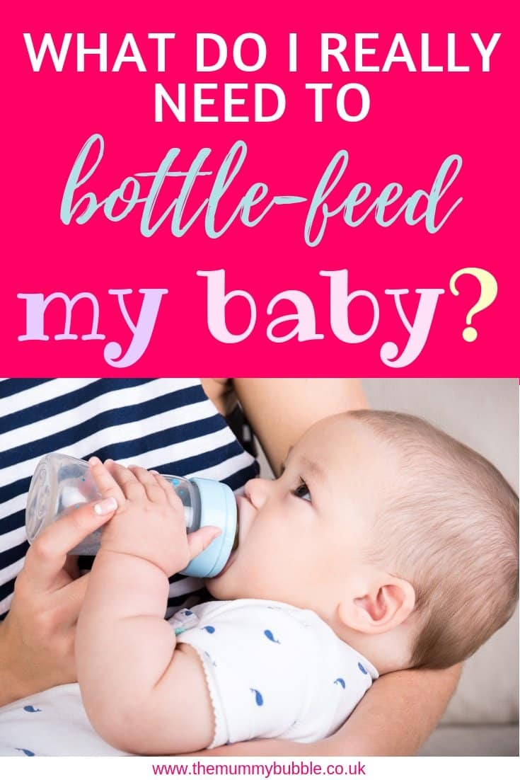 What kit do I need to bottle-feed my baby? Essentials for bottle-feeding a newborn