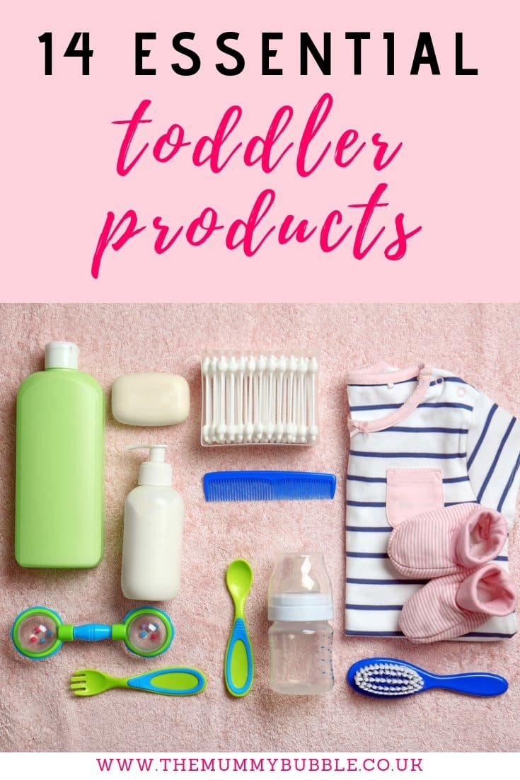 14 essential toddler products. Brilliant toddler eating, playtime and care items to help busy mums look after their toddler!