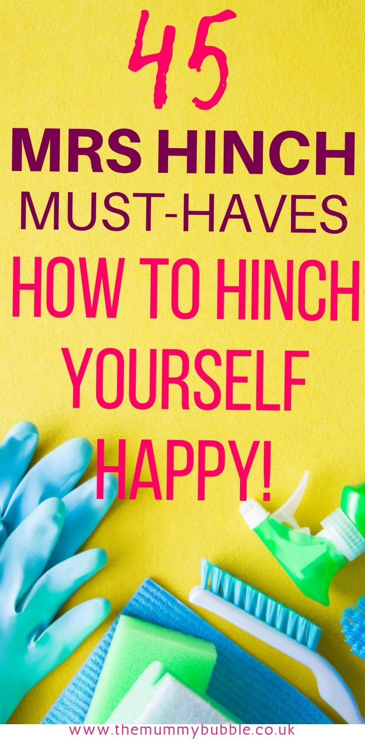 45 Mrs Hinch must-have products for cleaning your home