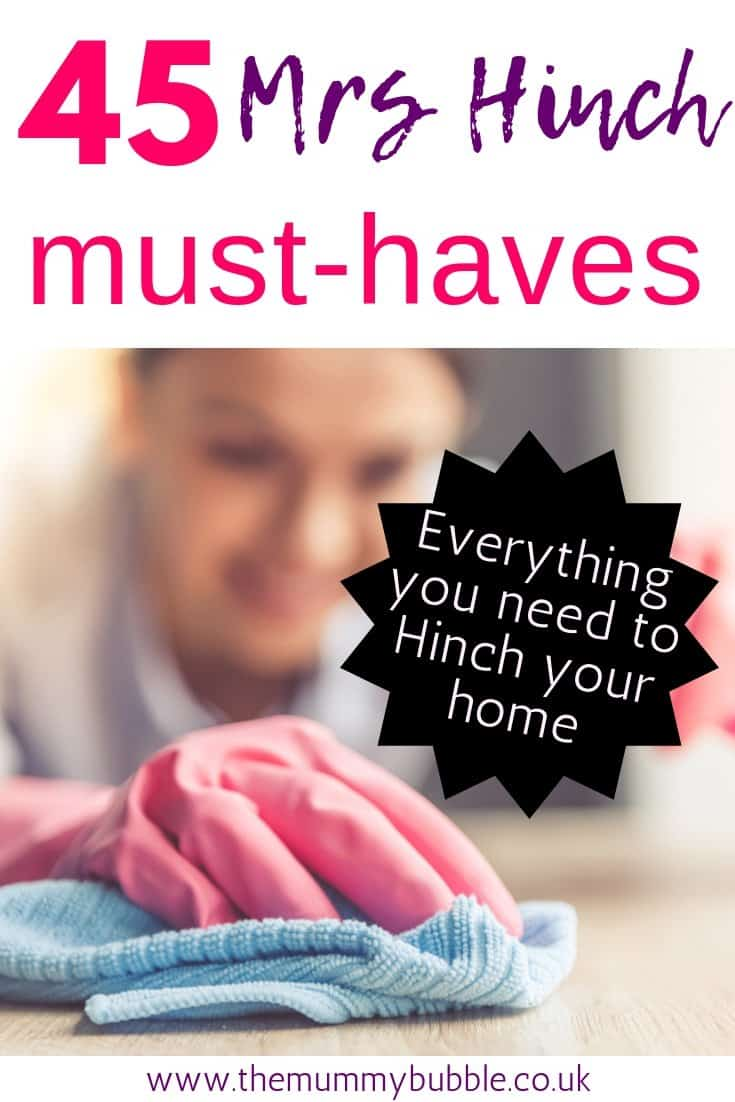 Mrs Hinch Must Haves For Cleaning The Mummy Bubble