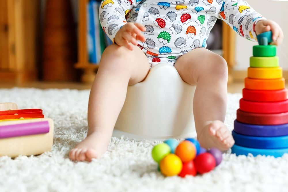 potty training - 5 signs you've started too soon