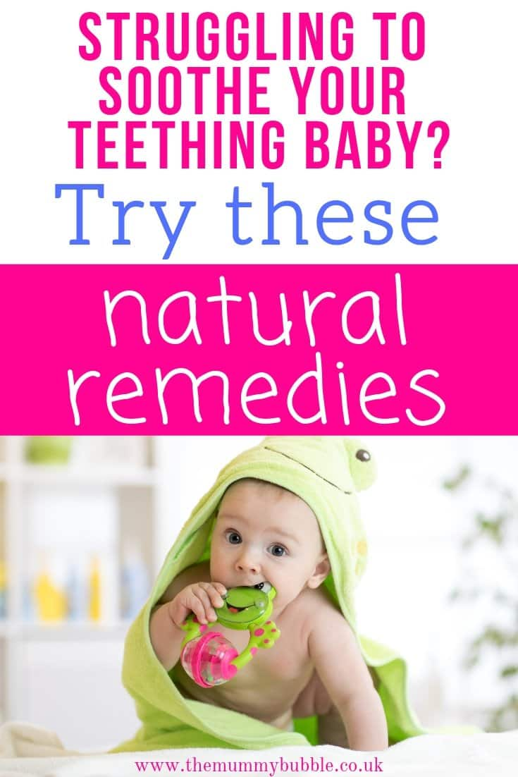 Natural methods to soothe a teething baby