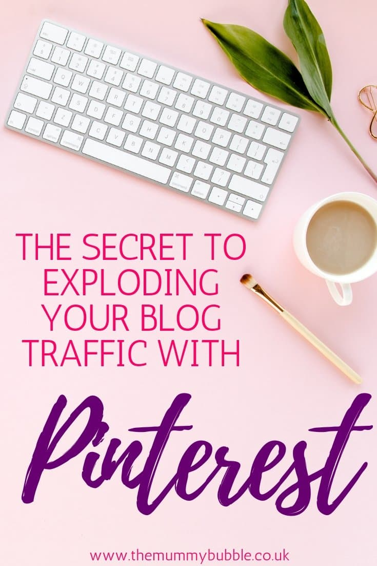 The secret to growing your blog traffic using Pinterest