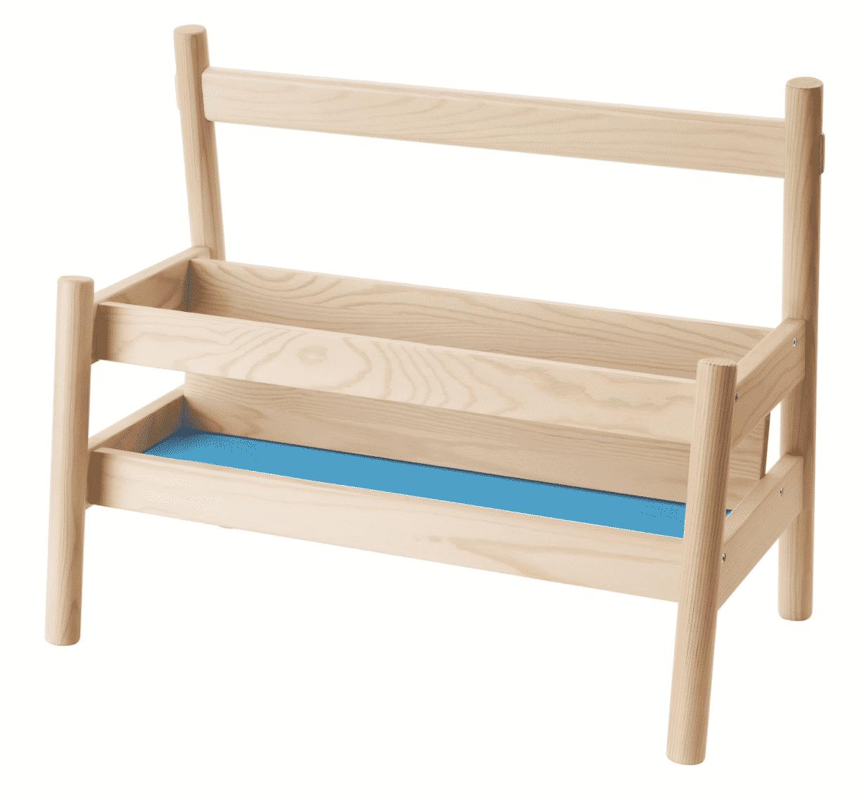 IKEA Flisat book storage for baby nursery