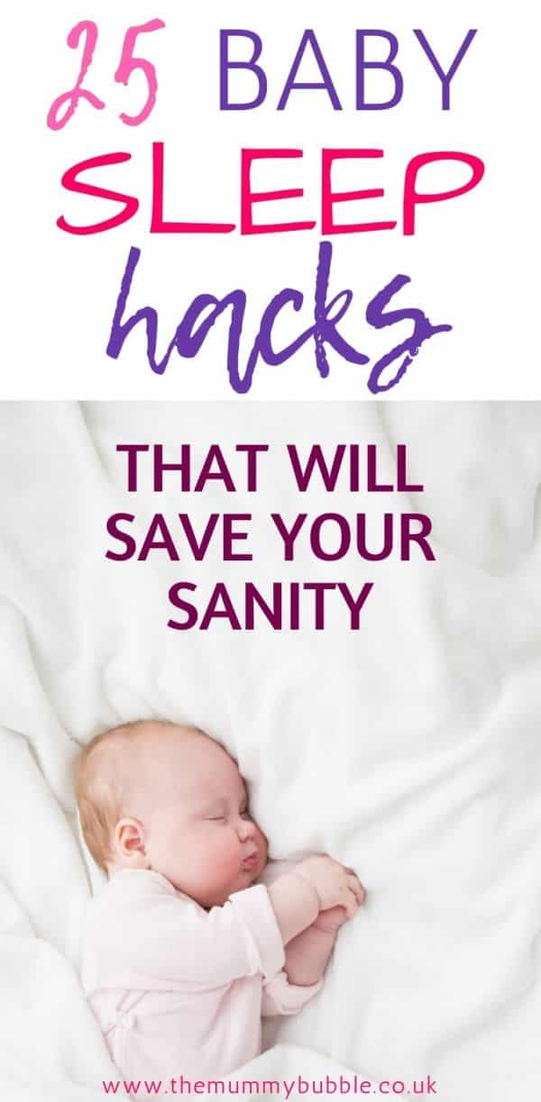 Baby sleep tricks to save your sanity